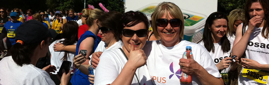 Lupus Group Ireland - Flora Mini Marathon 2013